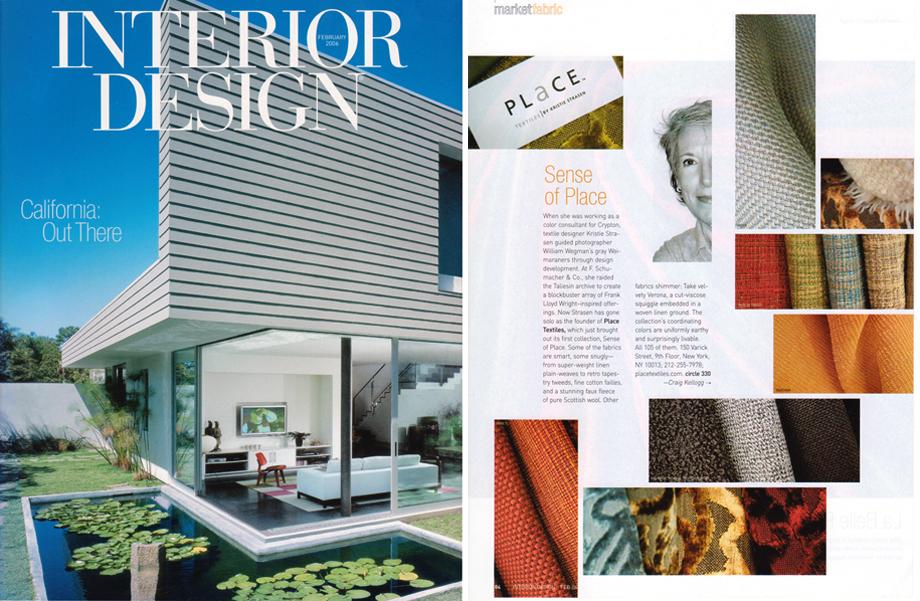 Interior Design Magazine -  March 2006