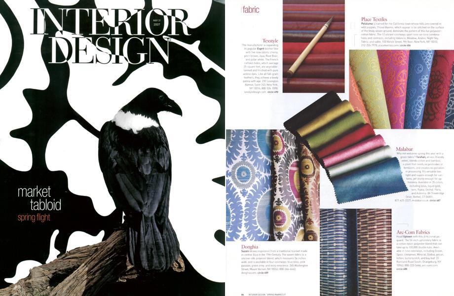 Interior Design Magazine -  March 2007