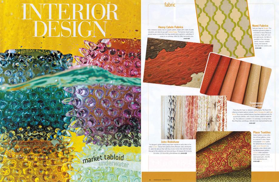 Interior Design Magazine -  March 2008