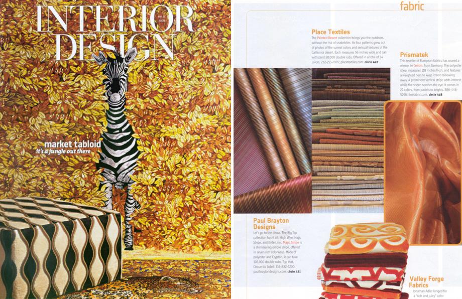 Interior Design Magazine -  2009