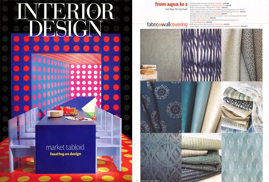 Interior Design Magazine -  March 2012