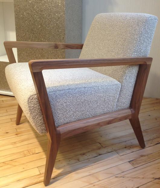 Boucle Modern Chair - Place Textiles
