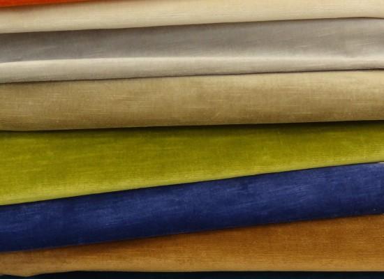 Velvet Upholstery Fabric - Textiles