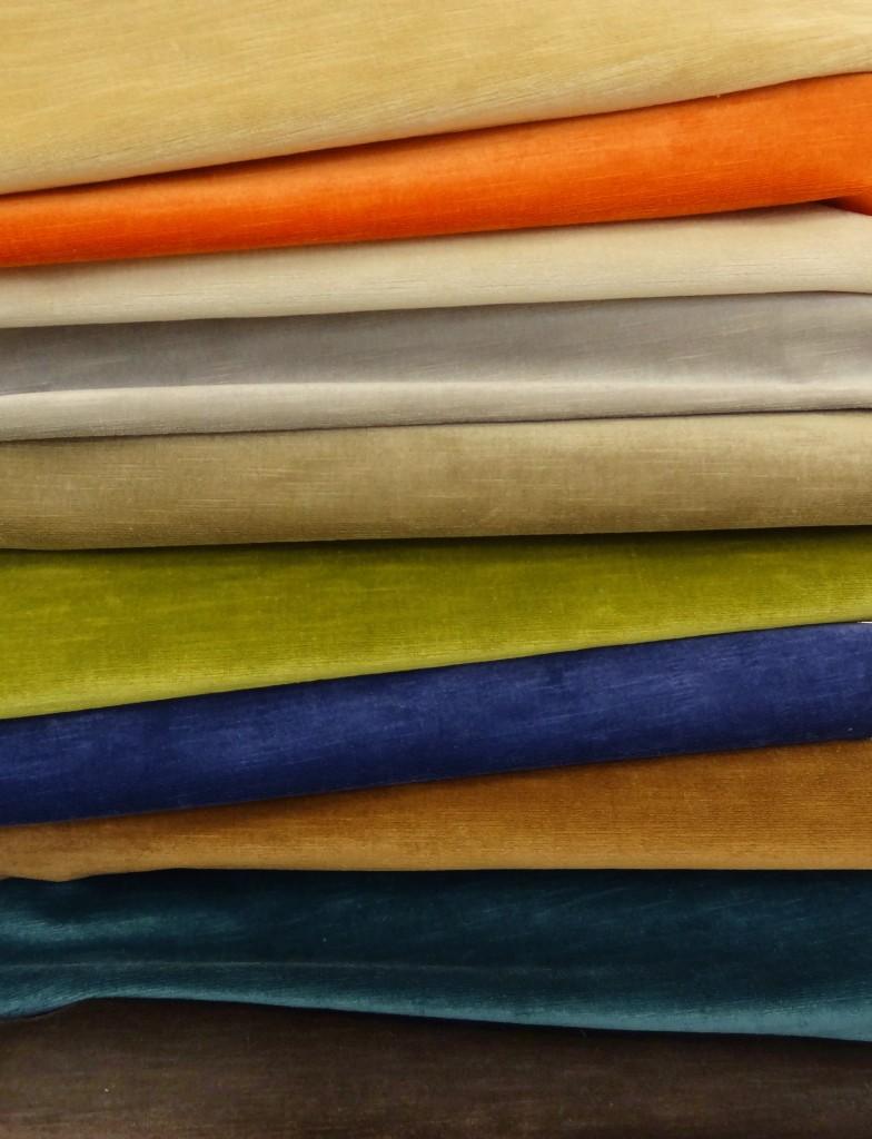 Torino Linen Velvet from Place Textiles in ten lustrous colors!