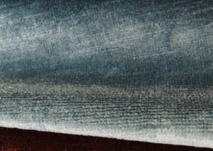 detail of linen velvet