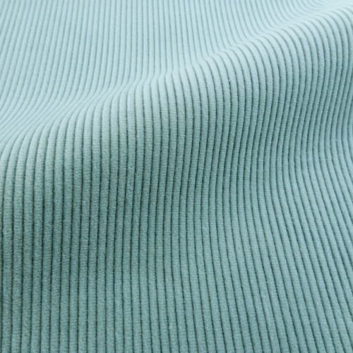 Theo   Big Sky - Light Blue Corduroy Fabric