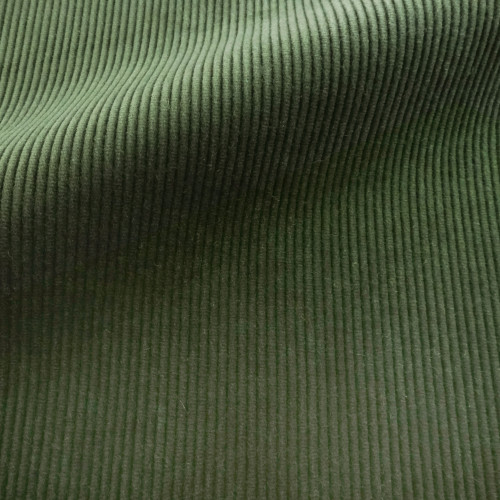 Theo | Forest - Dark Green Corduroy Fabric