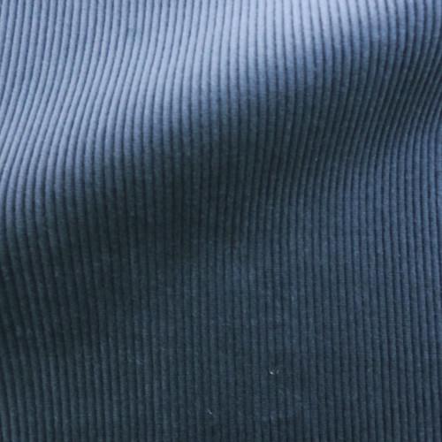 Theo   Night Sky - Navy Blue Corduroy Fabric