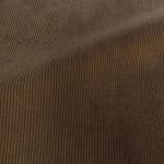 Theo | Walnut - Dark Brown Corduroy Fabric