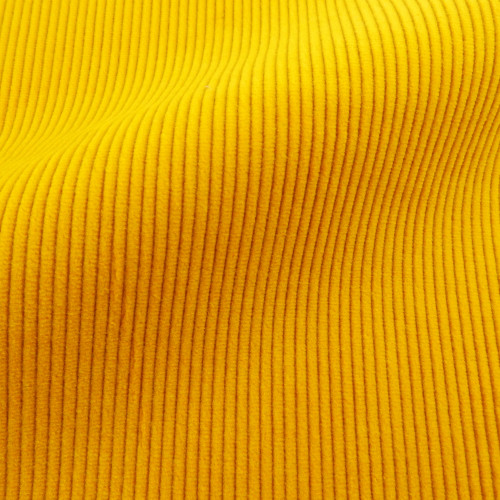 Theo | Yarrow - Bright Yellow Corduroy Fabric