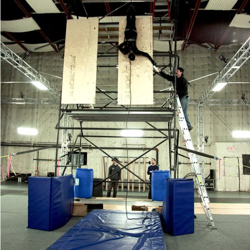 Stunt Capture Virtual Production