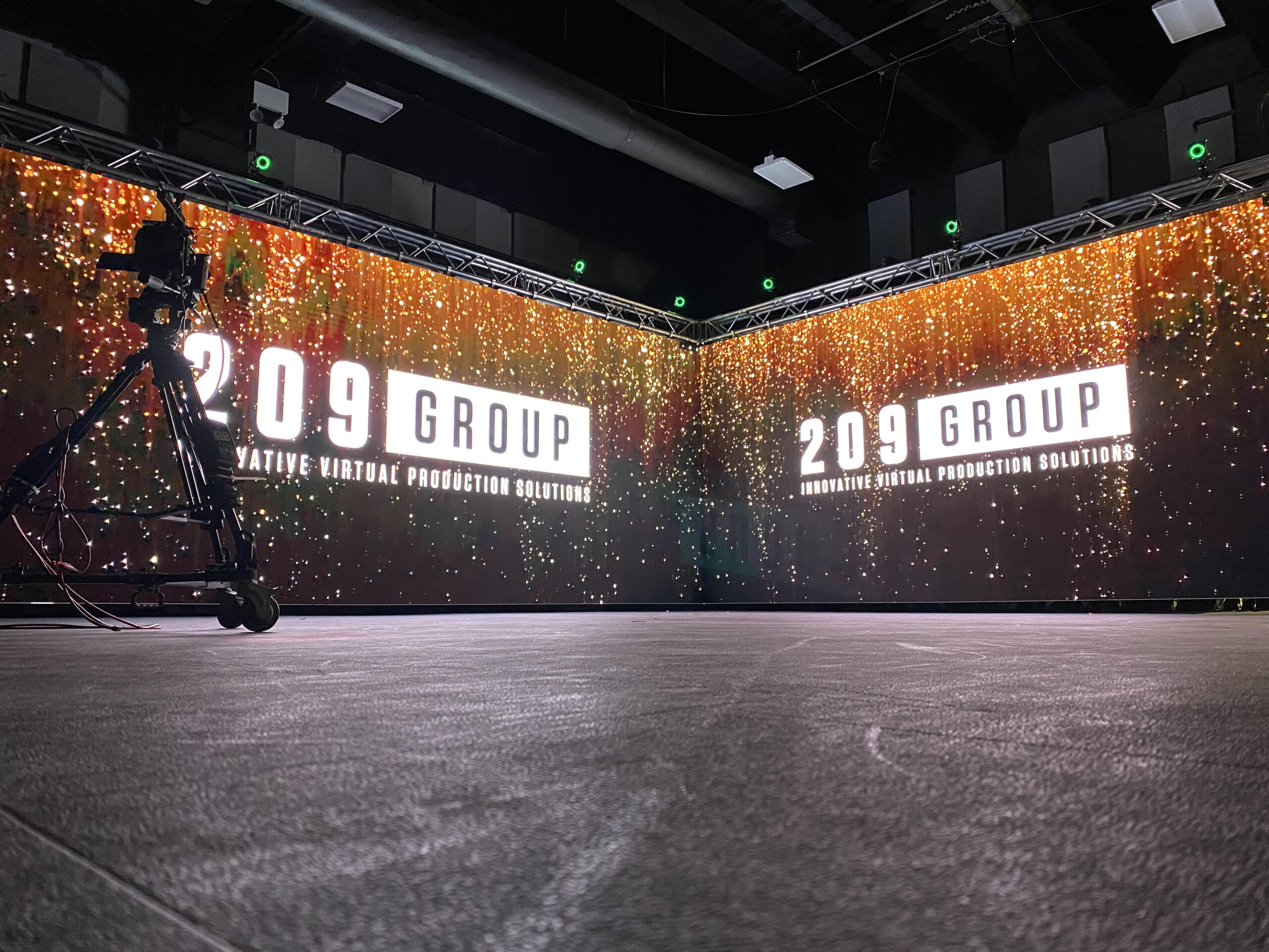 209 group Launches Virtual Production Services Team