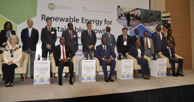 Experts convene in Kigali to discuss on sustainable growth through the use of renewable energy