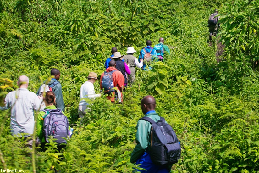 Regional mountain hiking project launched in Kigali