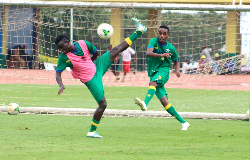 Amavubi National Football team starts intensive training for the coming CECAFA 2017