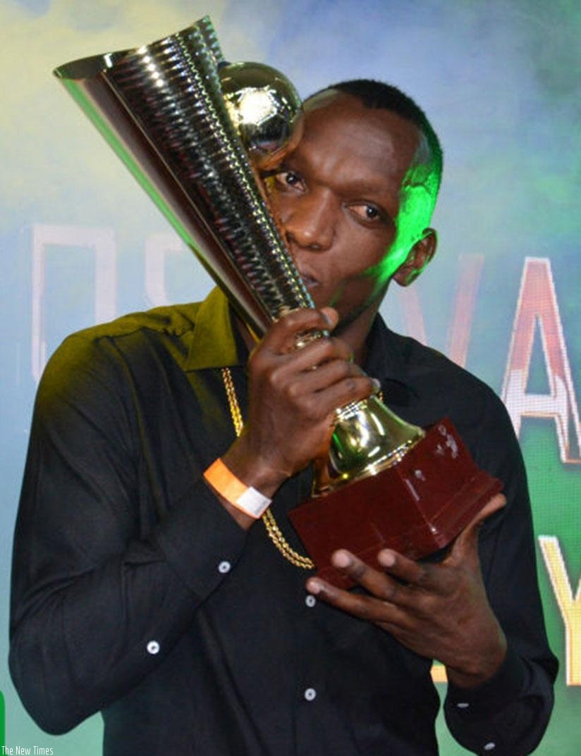 Kagere delighted after he's named Kenya Footballer of the Year