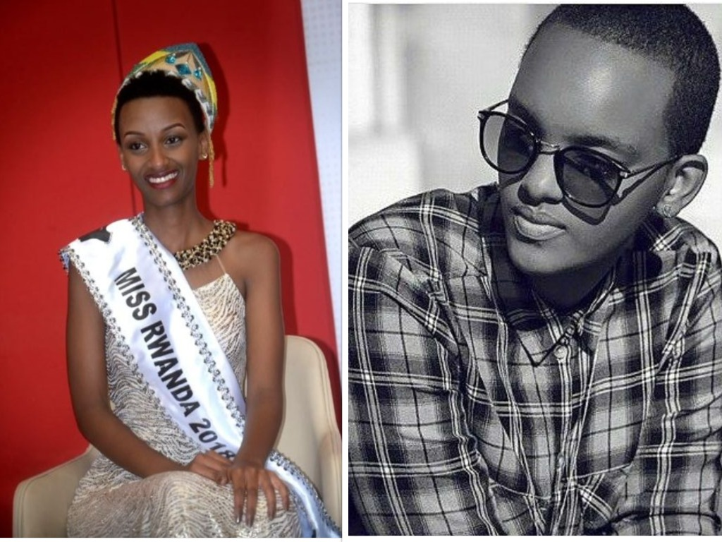 MissRwanda2018 willing to step on Miss Aurore's feets