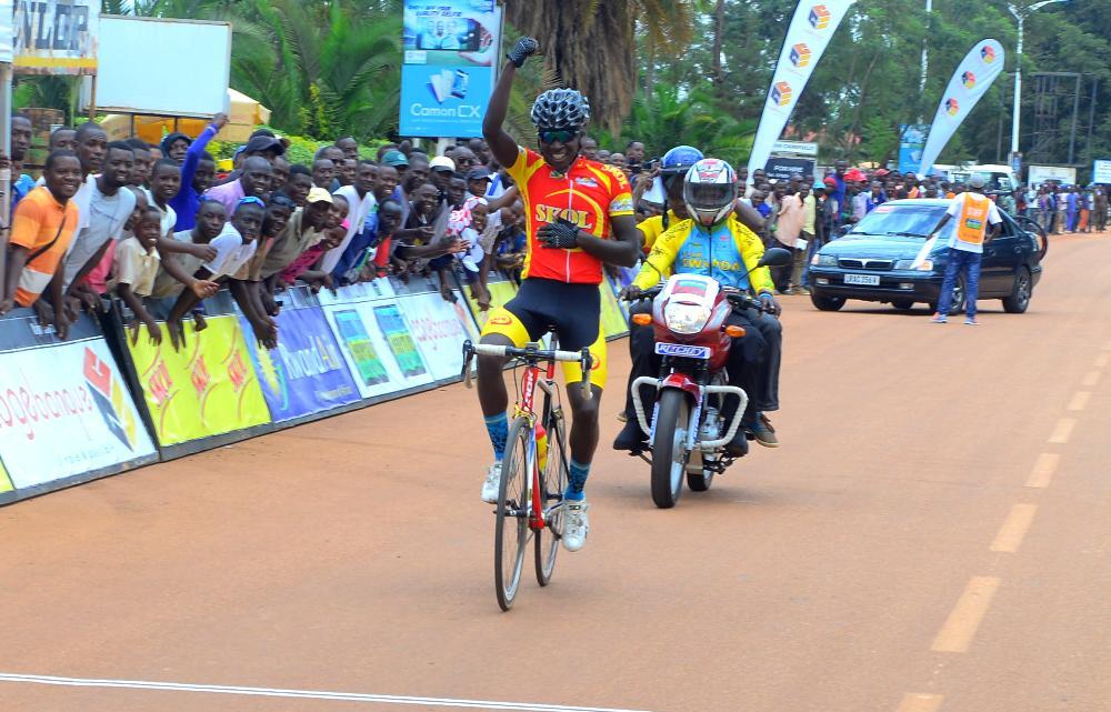 Munyaneza nicknamed Mbappé won the Rwanda Cycling Cup 2018