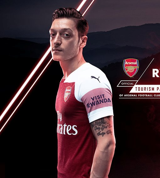 Rwanda unveils three-year partnership with Arsenal to increase tourism