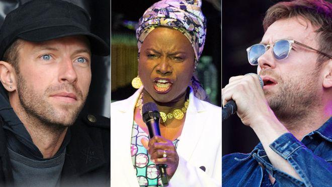 Chris Martin and Damon Albarn campaign to free Uganda's Bobi Wine