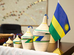 Rwanda's tourist attractions showcased in China