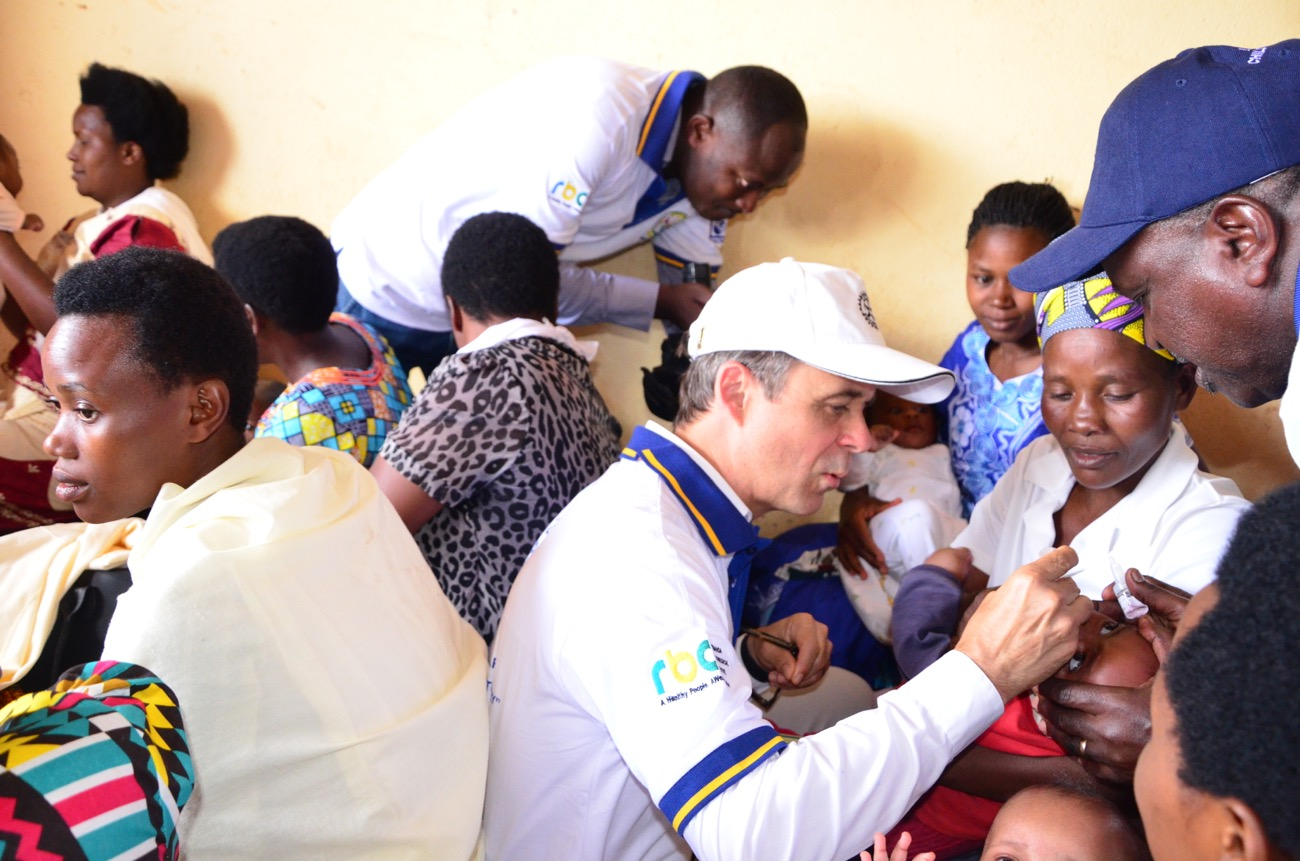 Polio no longer exists in Rwanda for over last 25 years