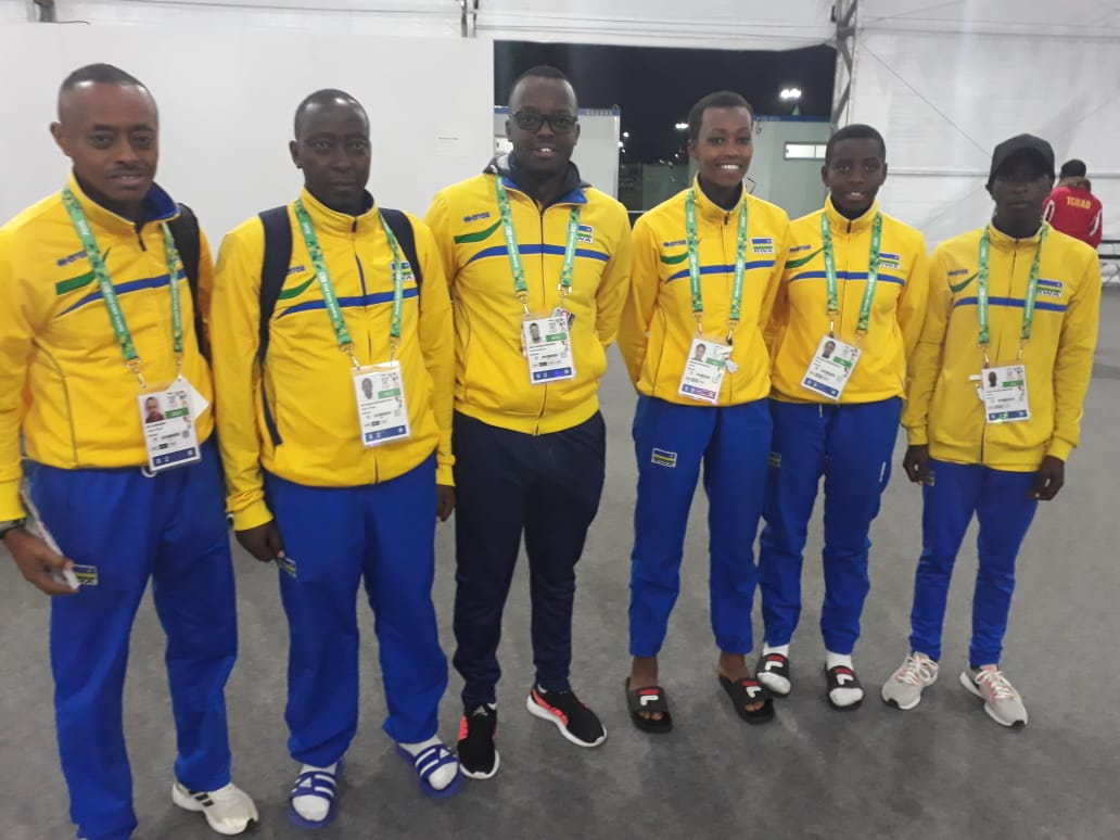 Rwandan Delegation Arrives In Argentina For 2018 Youth Olympics