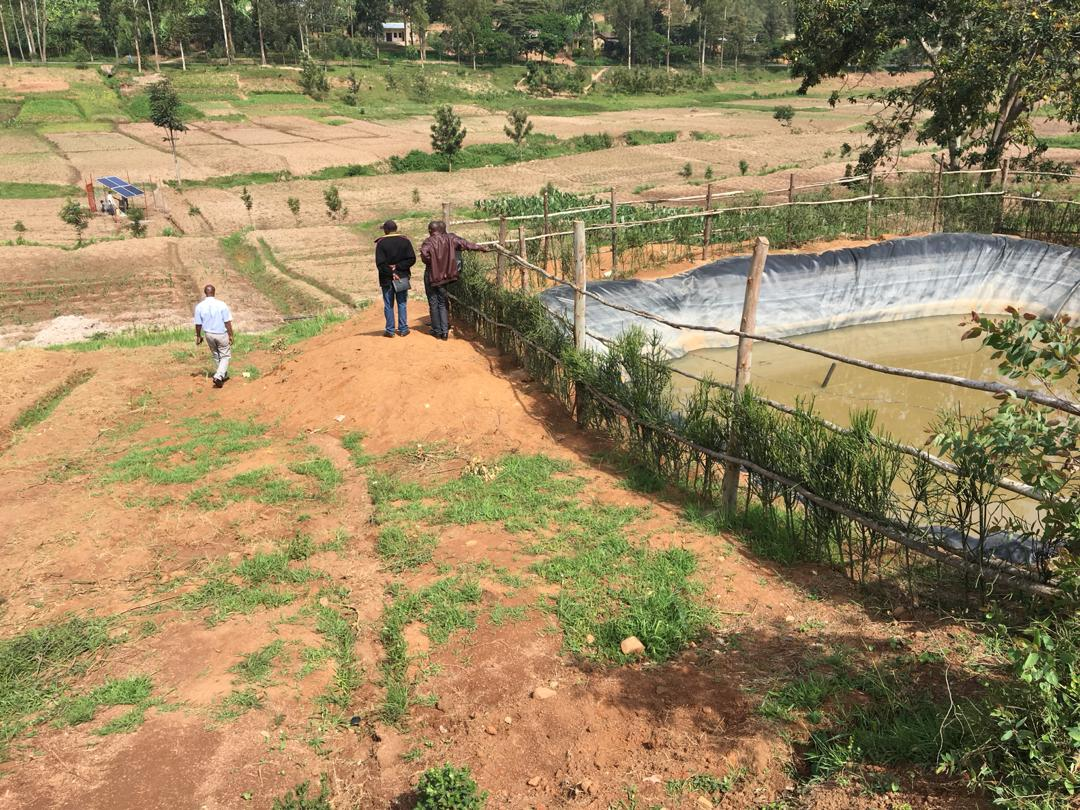 Kamonyi: Residents of Musambira sector learn how the sun light improves irrigation