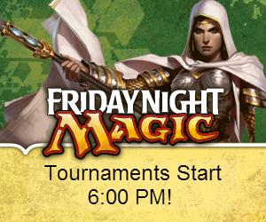 Friday Night Magic, Magic the Gathering, Trading Card Games, Tournaments