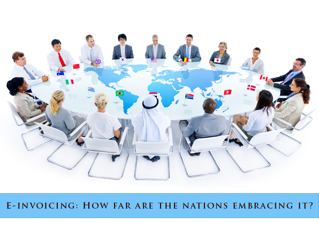 Are All the Nations up for E-Invoicing?