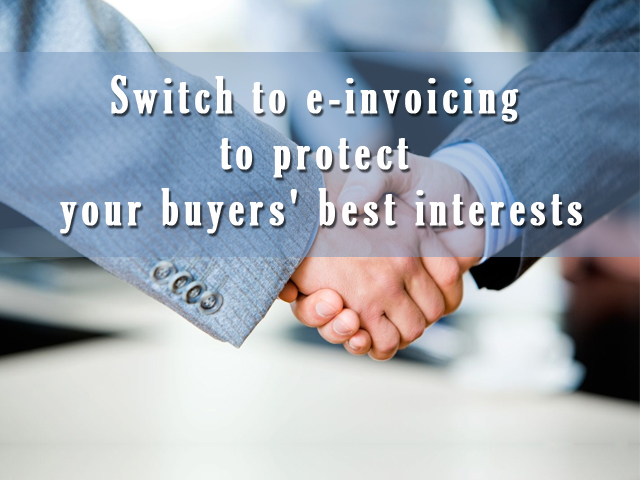 Can E-Invoicing Benefit <br/> Buyers Too?