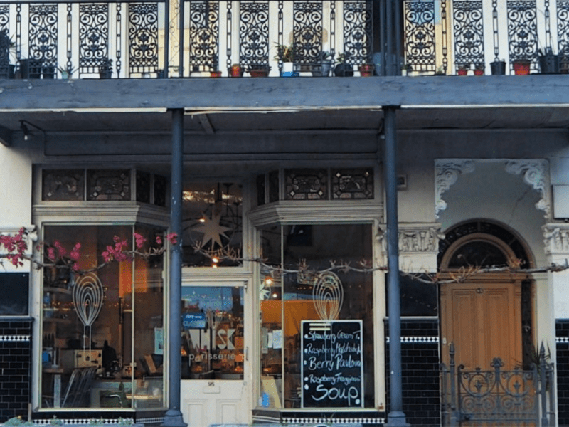 Whisk Patisserie shop front