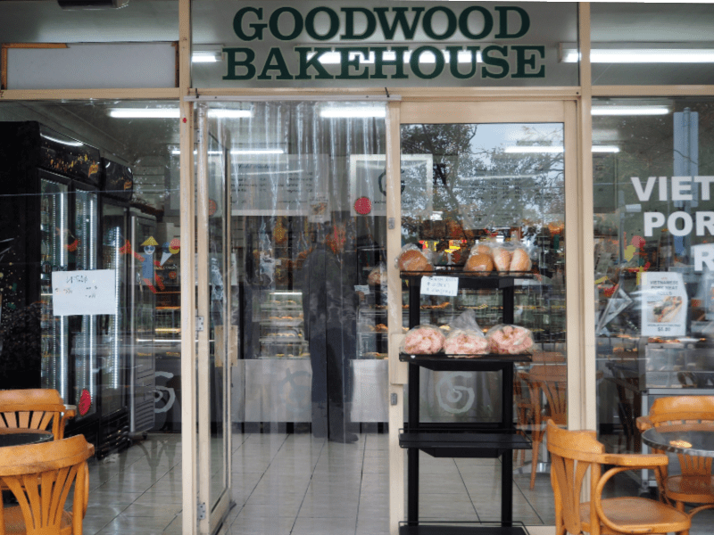 Entrance to Goodwood Bakehouse