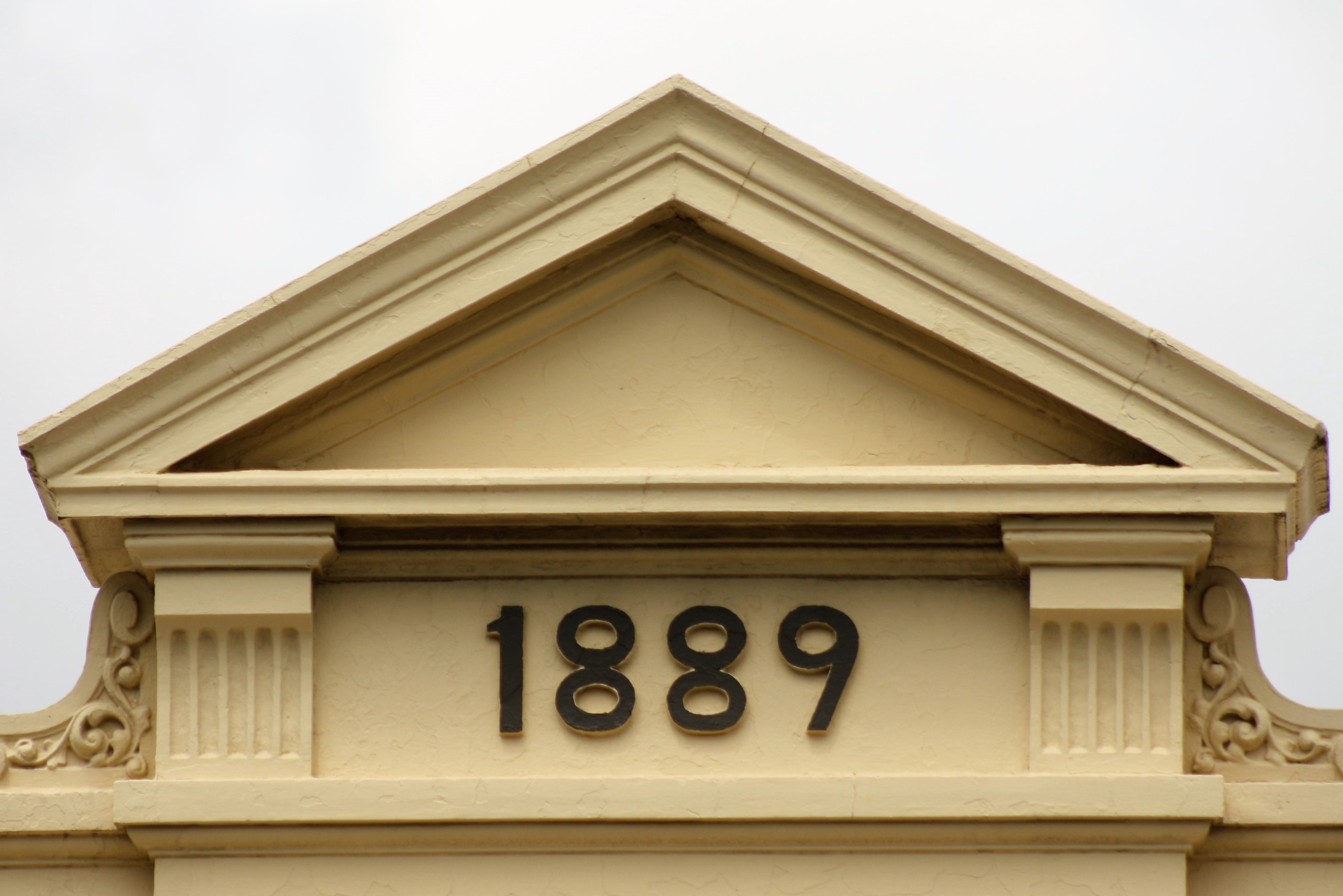 Date on building - 1889