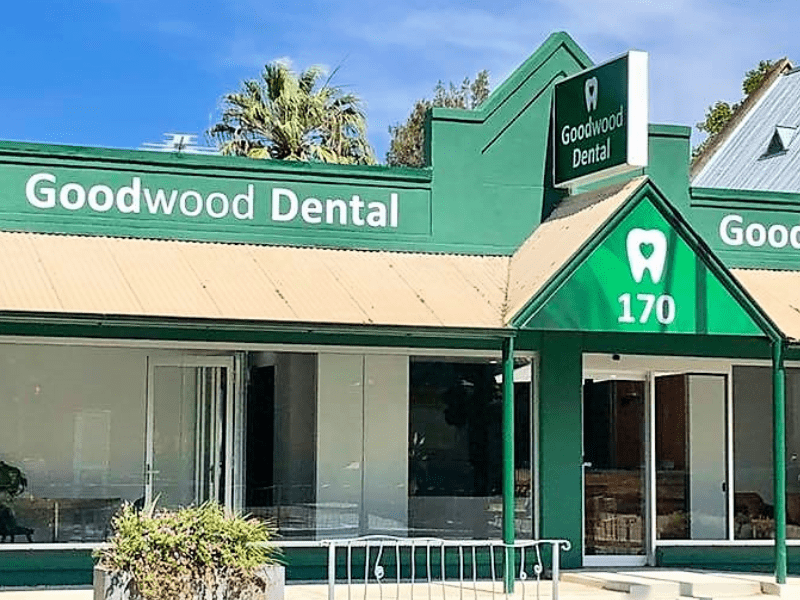 Exterior of dentistry practice