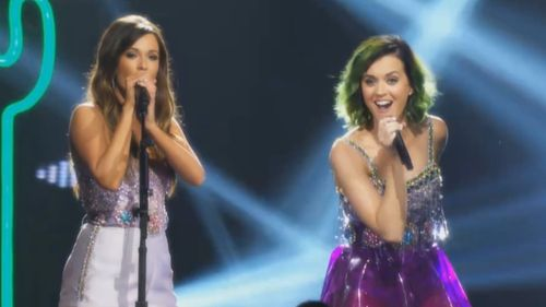 Katy Perry and Kacey Musgraves