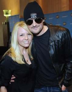 Eric Church and wife Katherine