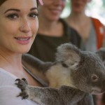 Kacey Musgraves and a koala