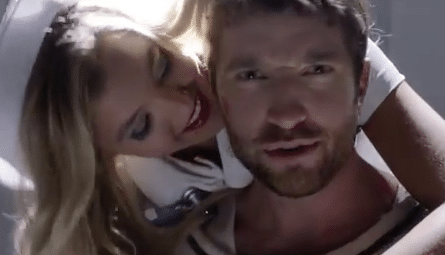 NEW Music Alert: Brett Eldredge gets funky in a straight jacket…