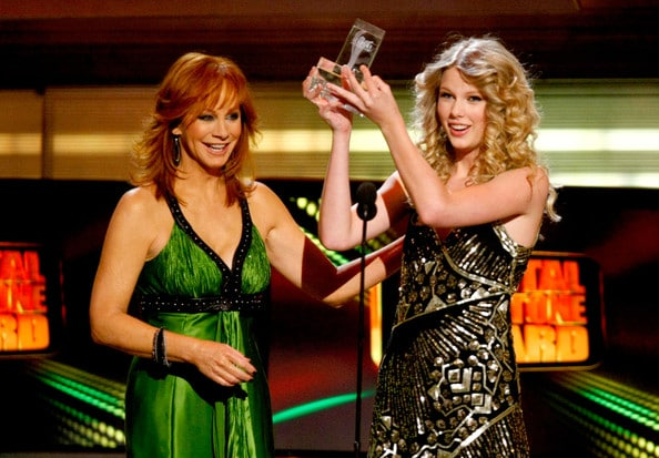 Reba is Taylor Swift's biggest fan..