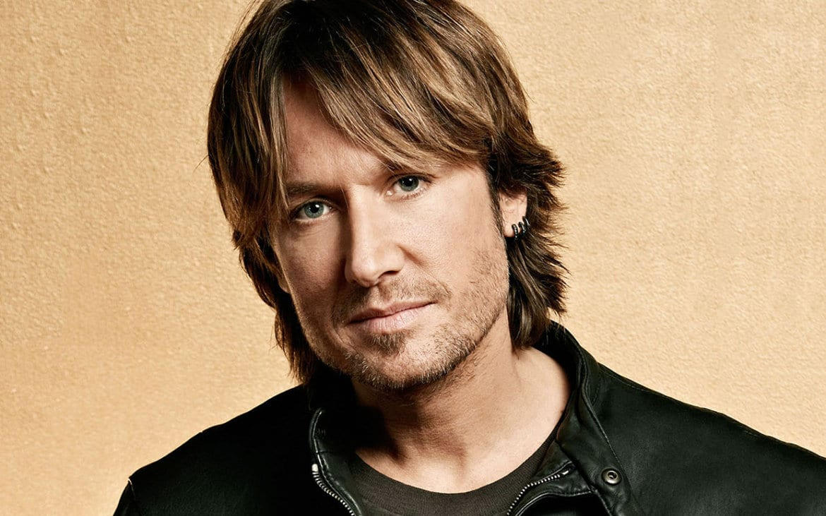Keith Urban risks thunder and lightening for fans