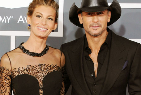 In case you wondered where Tim McGraw and Faith Hill were….