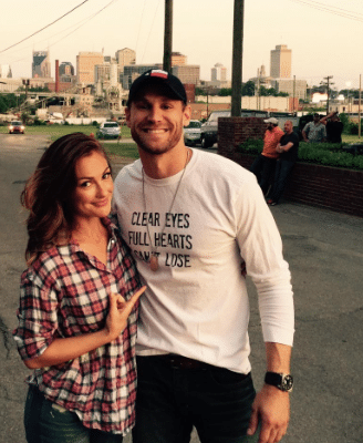 Are Chase Rice and Minka Kelley rollin together?