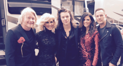 Little Big Town finds themselves in a Harry situation…
