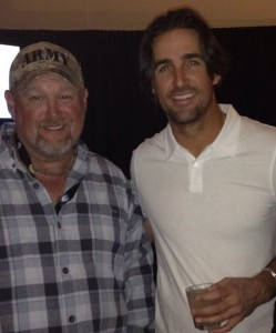 Jake Owen and Larry the Cable Guy - photo via WhoSay