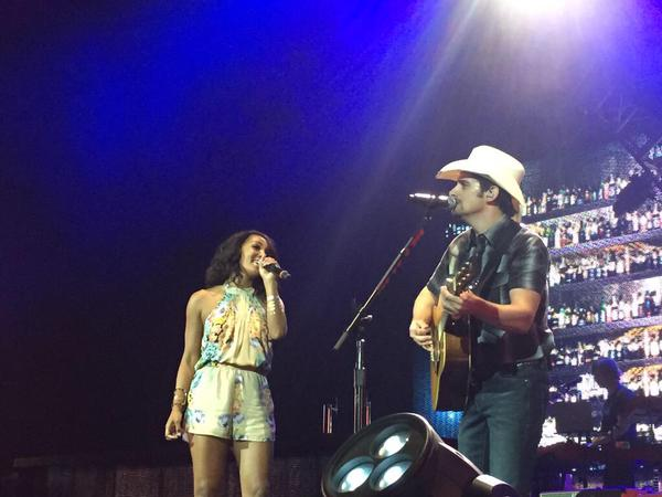 Brad Paisley and Mickey Guyton singing Whiskey Lullaby is pretty close to perfection