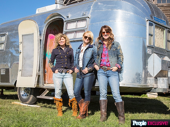 Miranda Lambert's mom's airstream