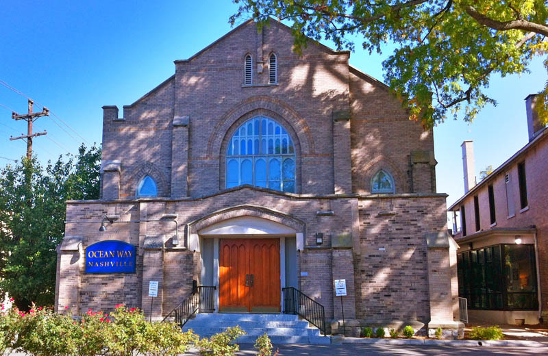 Ocean Way Studios which is a old historic church that has been converted to a large recording studio.