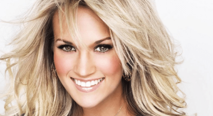 Carrie Underwood Spills All … Literally