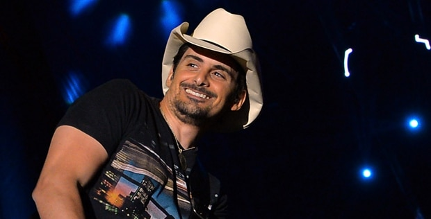 Brad Paisley did not come to play with Gold All Over the Ground video